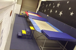 BACE two trampolines